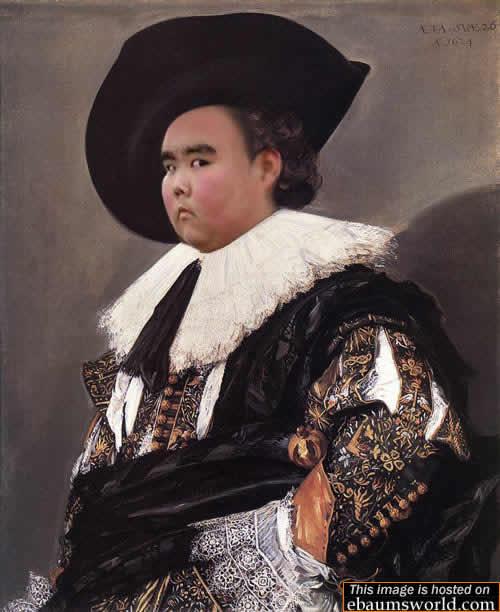 Fat Asian Kid Photoshopped