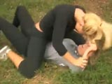 Hot Chicks Threesome Catfight