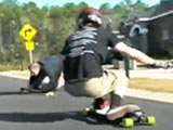 Super Bad Longboard Crash