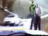 Insane POV Rally Car Crash