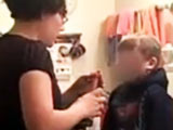 Mom Force Feeds Son Hot Sauce view on ebaumsworld.com tube online.