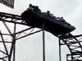 Headbanging Gets Stopped Rollercoaster Moving