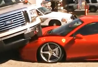 Driver Crashed 2 Week Old Ferrari