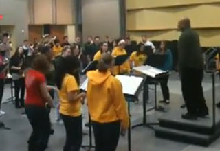 George Mason Band Plays Rage Against the Machine