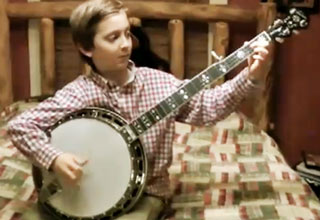 Epic 8 Year Old Banjo Player