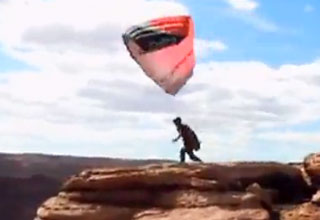 Paraglider Cheat Death