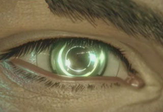 Man Has Bionic Video Camera Eye Ball