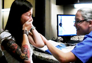 Deaf 29-Year-Old Woman Hears For The First Time