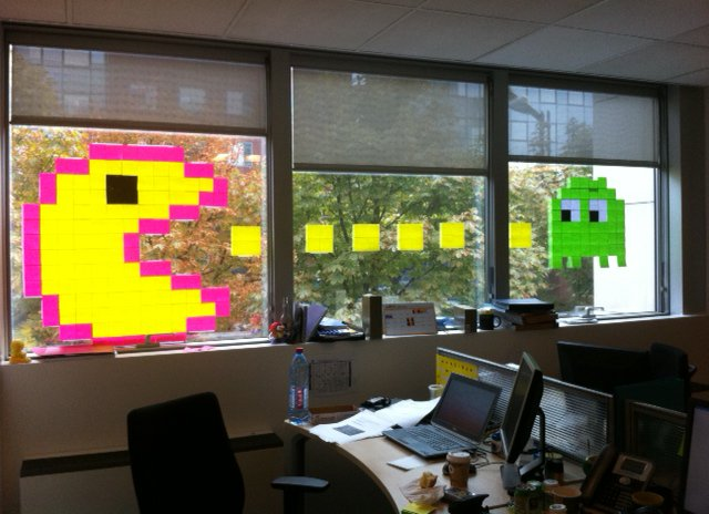 Connu Post-It Note Art - Gallery | eBaum's World VY49