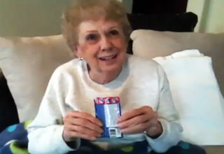 82 Year Old Grandma Tries Pop Rocks For the First Time