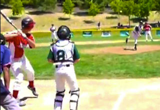 Kid Hits Home Run During Intentional Walk