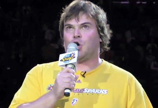 Jack Black ROCKS The National Anthem