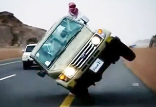 Drifting Like Mad Men in Saudi Arabia