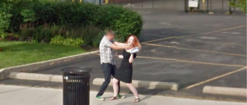 Most Bizarre Images Caught On Google Street View