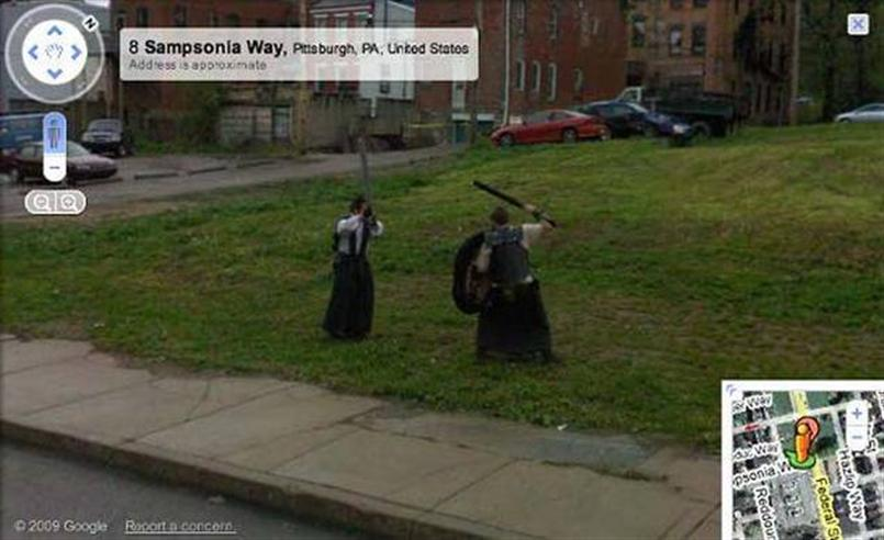 More Weirdness On Google Street View