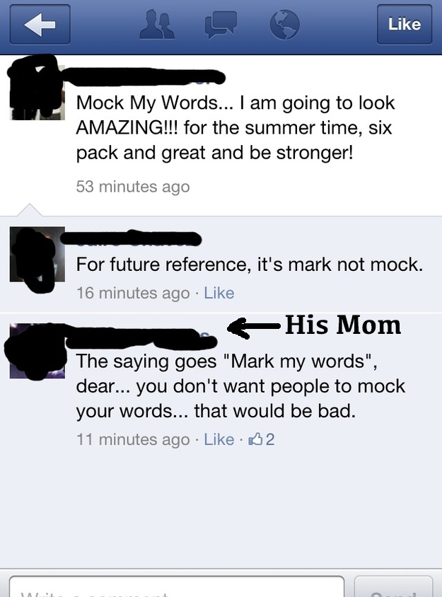 Parents On Facebook Who Hilariously Owned Their Kids