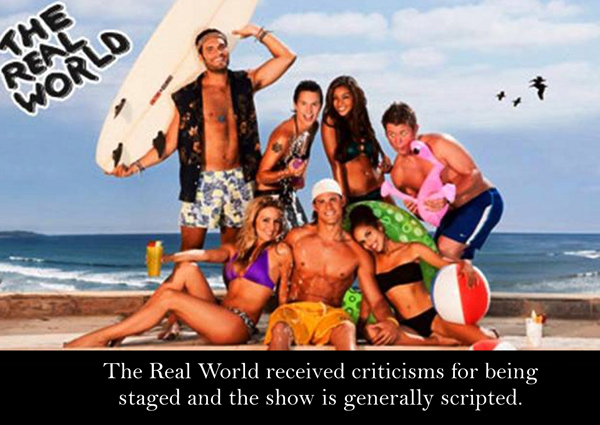 essay on reality shows real or fake Reality shows as we know today is favourite genre of all television producers   shows but also provide ample opportunity to show some real sporting talent.