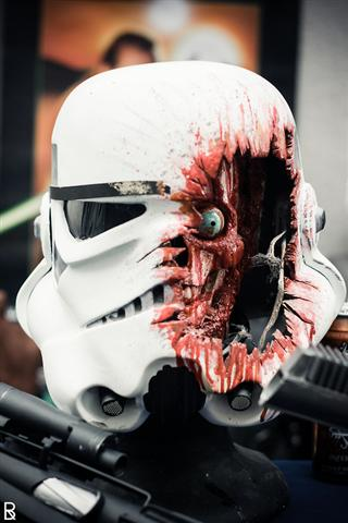 3 - star wars storm trooper helmet