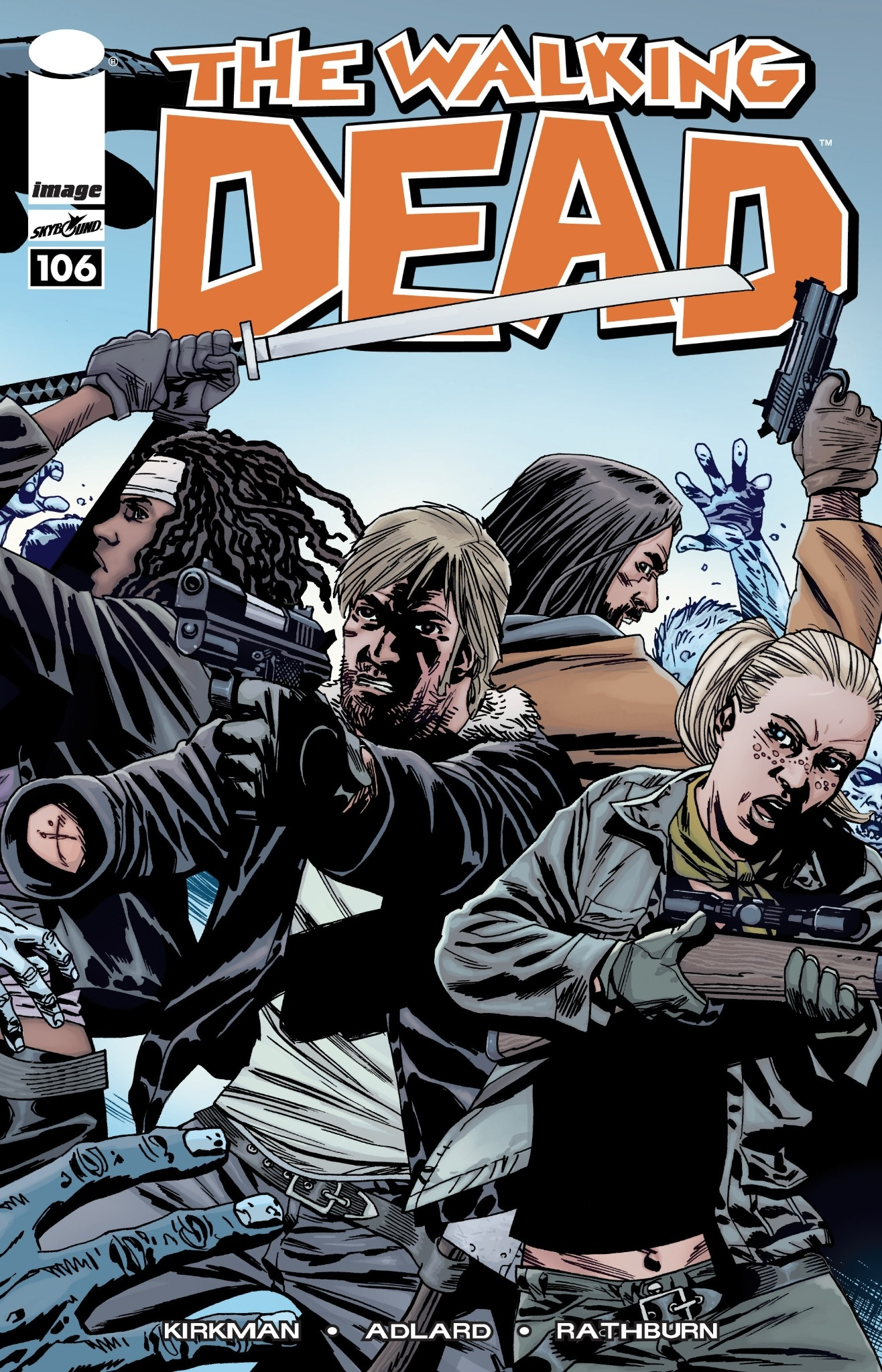 The Walking Dead Comic Art - Gallery | eBaum's World
