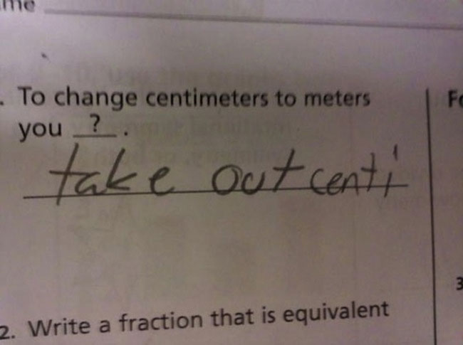 Test Answers So Wrong They Might Be Right Funny Gallery - 34 hilarious test answers