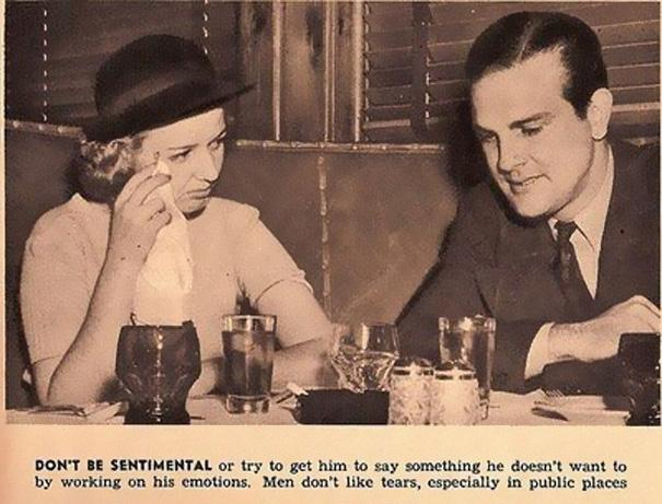 Sexist dating advice from 1938