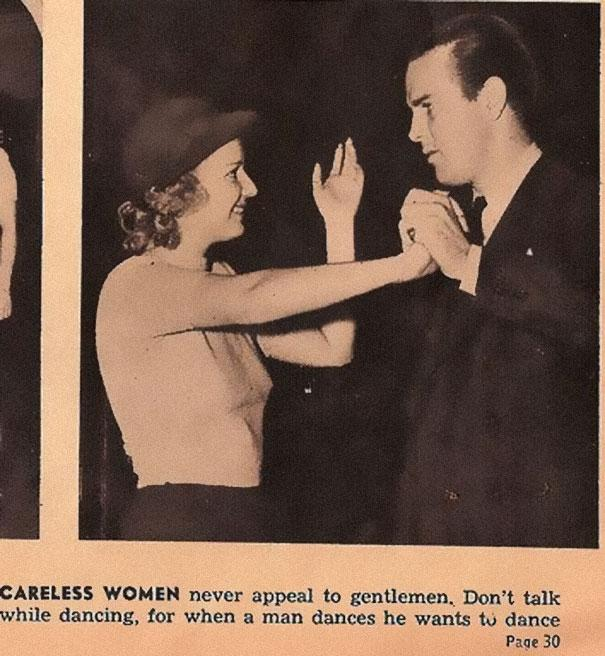 13 Ridiculous Dating Tips From 1938