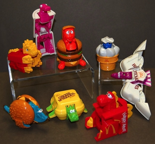 Happy Meal Toys From The 80s And 90s Pop Culture Gallery Ebaum S