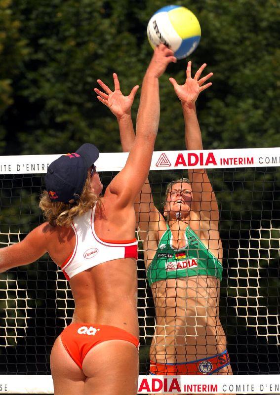 порно в женском волейболе