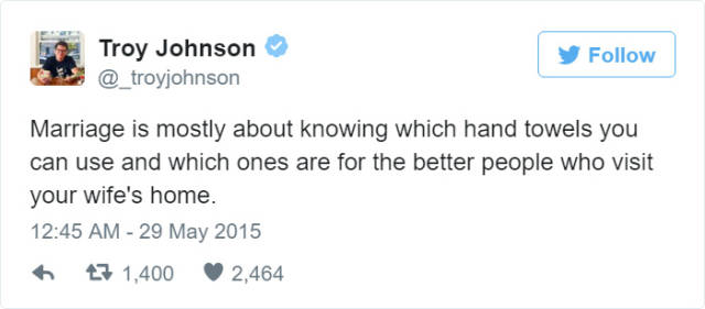 Tweets That Pretty Much Sum Up The Married Life Perfectly - 29 photos that perfectly sum up how your life is going