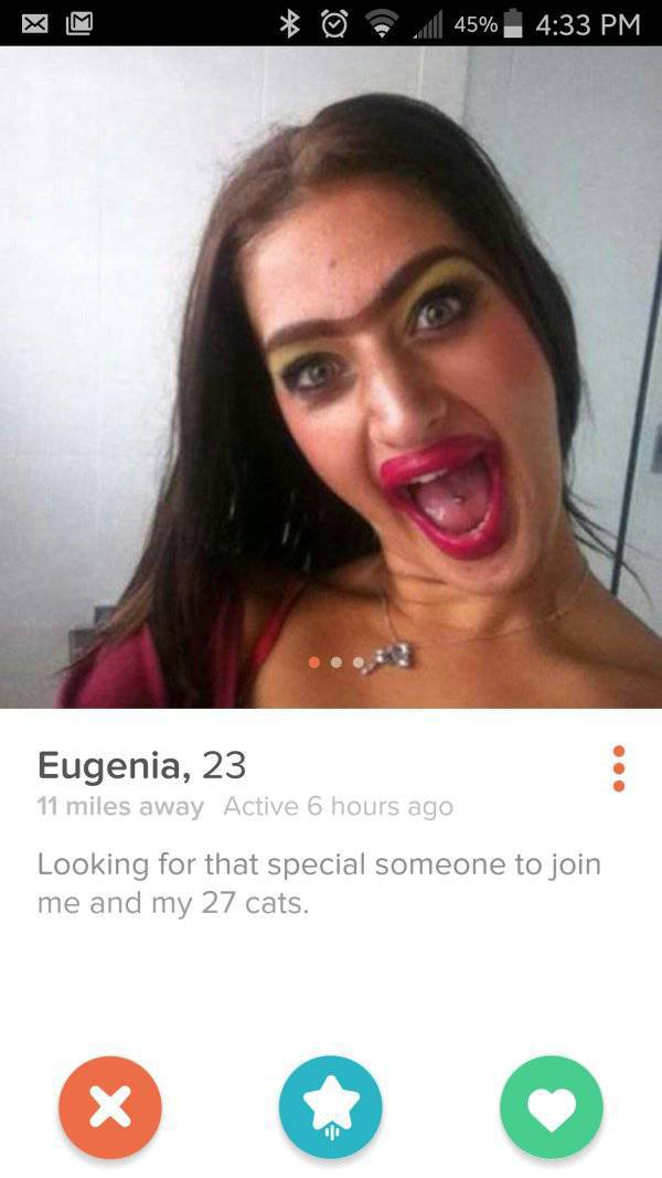 Most WTF Tinder Profiles Gallery EBaums World - 20 strange tinder profiles that will make you laugh