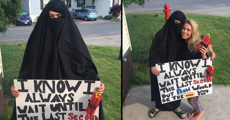Of The Cringiest Over The Top And Racist Prom Proposals - 18 worst proposals ever