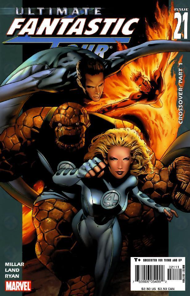 Ultimate Fantastic Four #49 VF+ 1 º Dibujo Marvel Comics