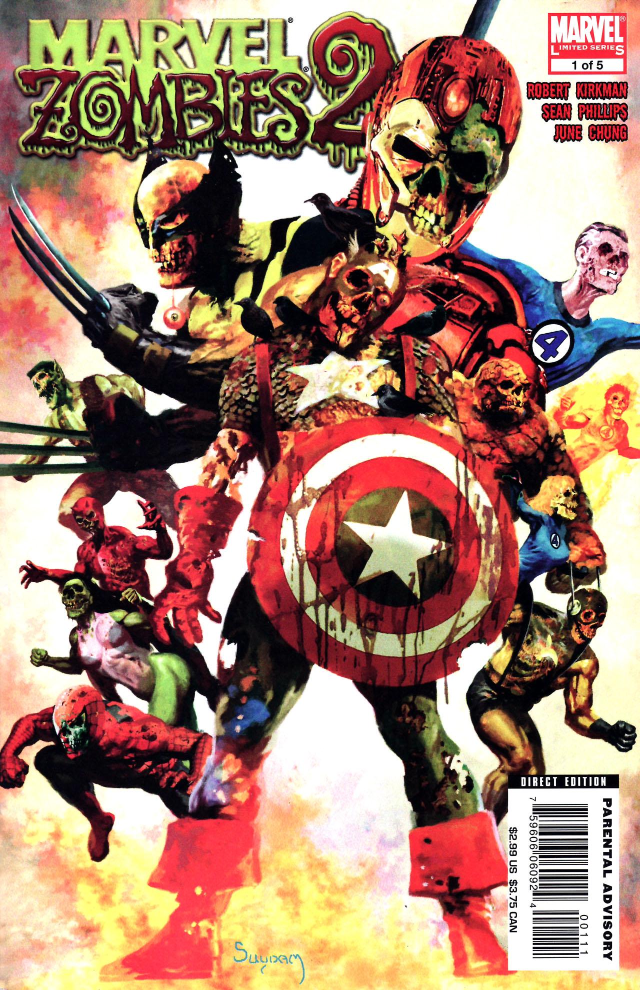 marvel comics zombie copyright