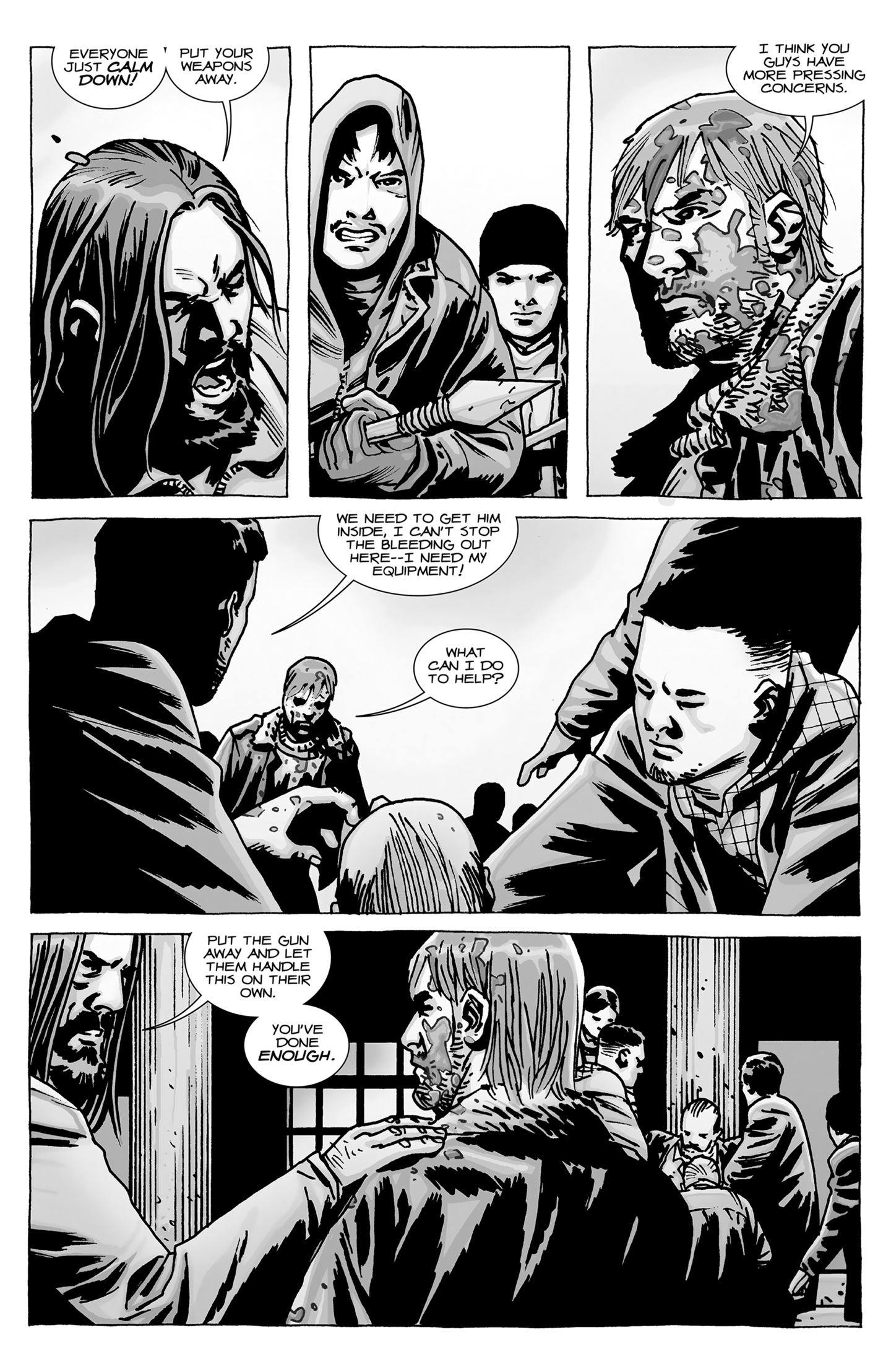 4 the walking dead 96 a larger world conclusion