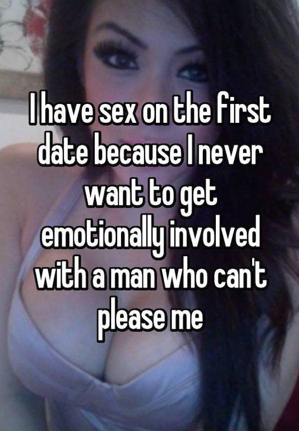 Why have sex on first date
