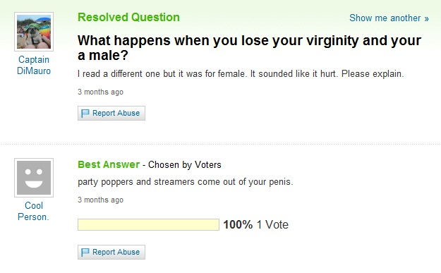 Where will you lose your virginity
