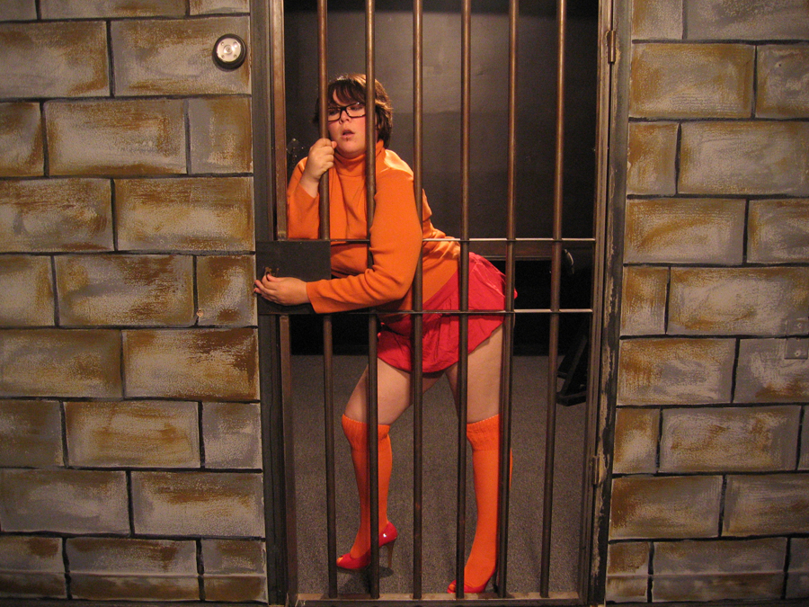 Pissing velma chubby sexy cosplay and the