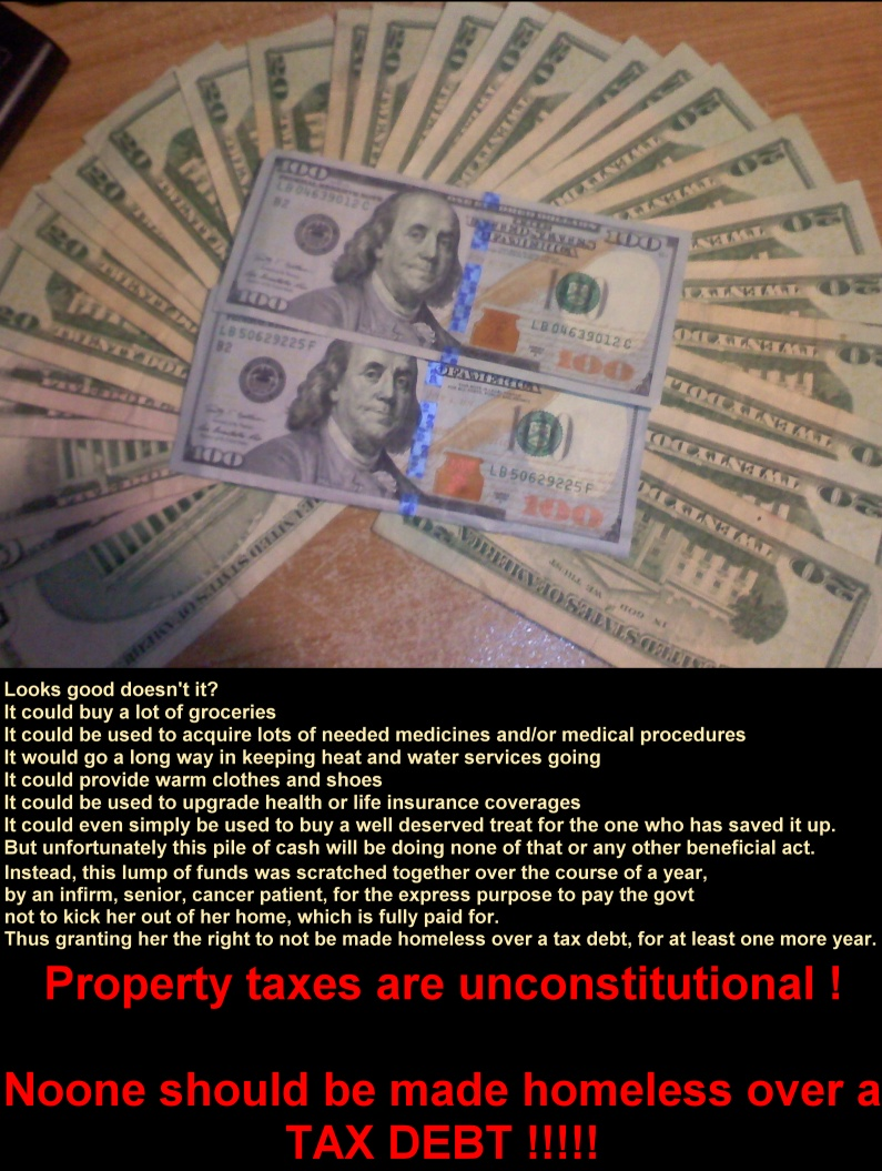 Why Property Taxes Are Unconstitutional