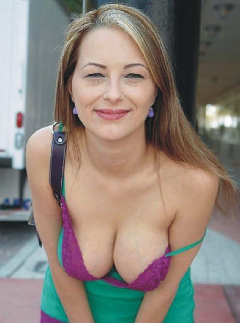 cougar cleavage