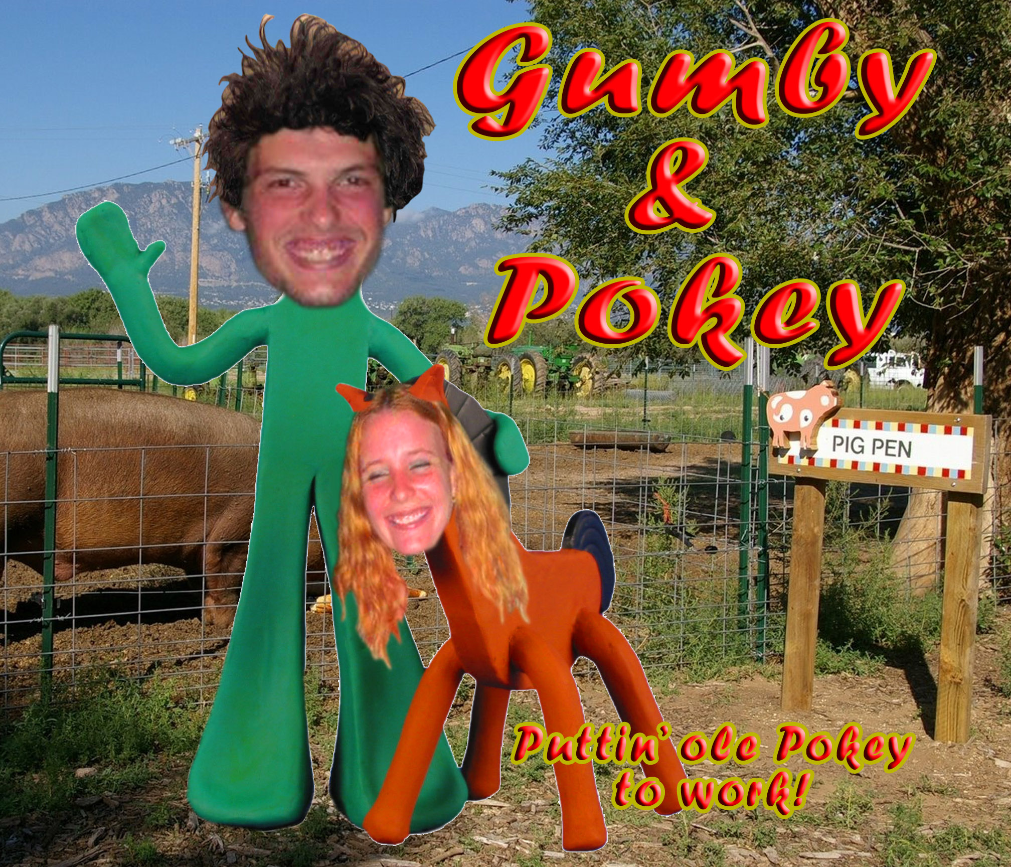 Gumby And Pokey Costume Costume Pokey Gumby Image
