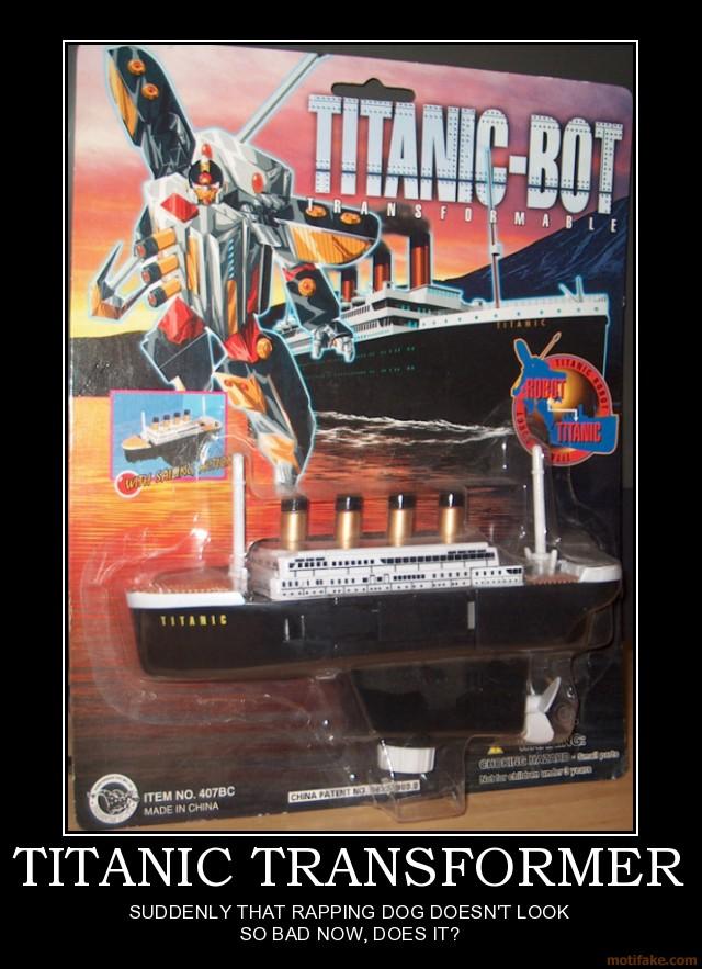 titanic transformer