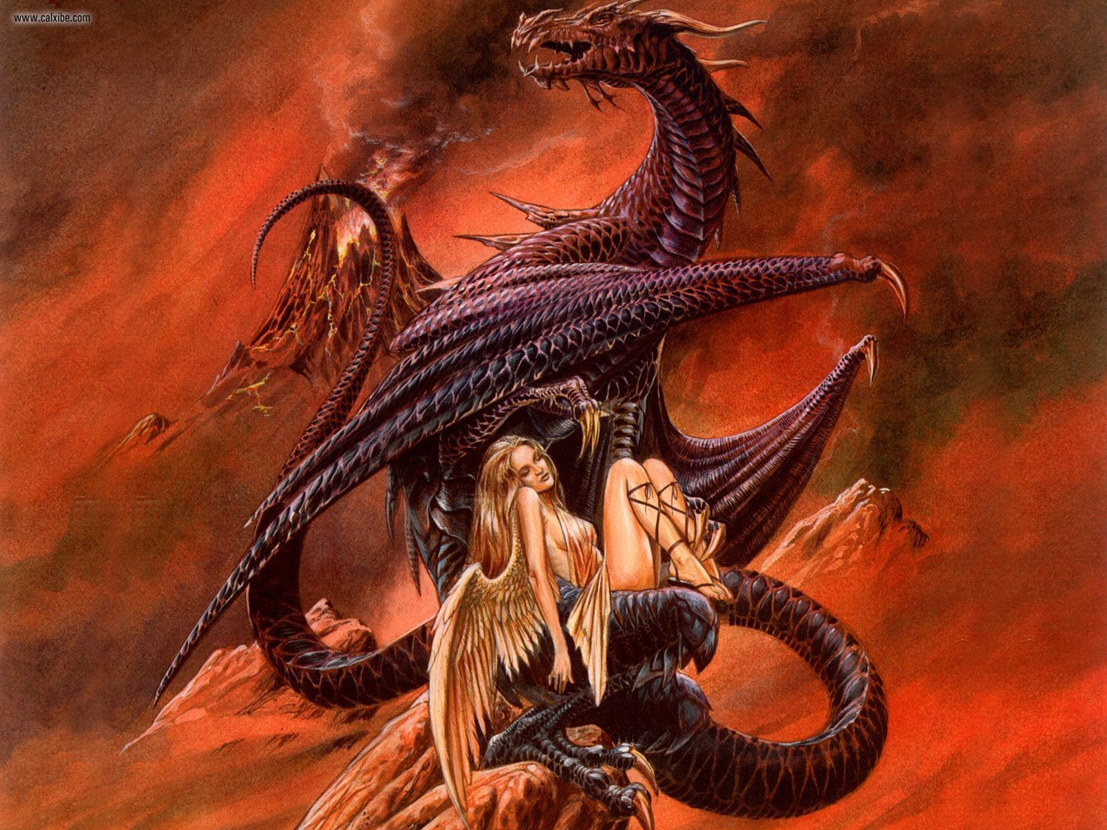 Fantasy sex with dragons