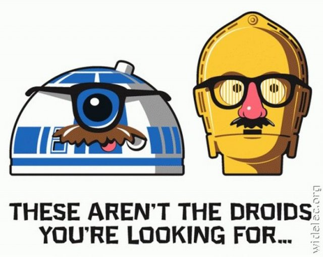 Wars droids star funny