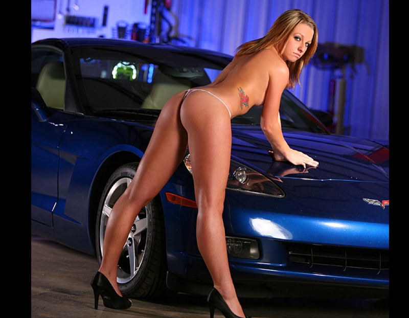 Star girls with hot cars naked