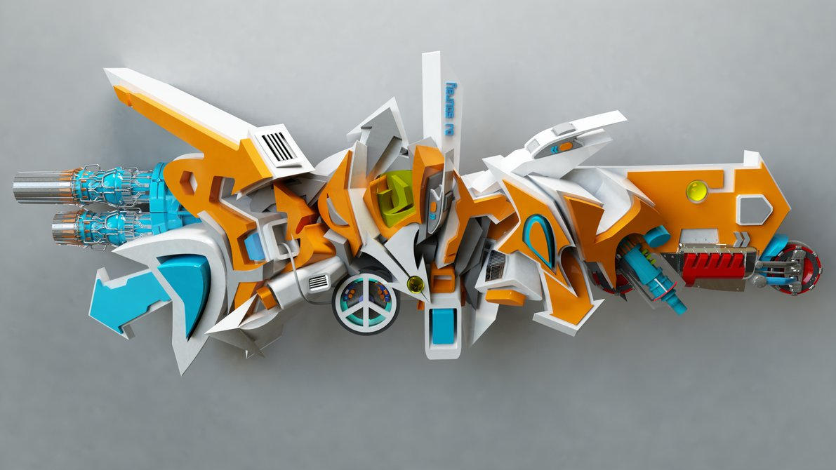 9 Amazing 3D Graffiti Gallery