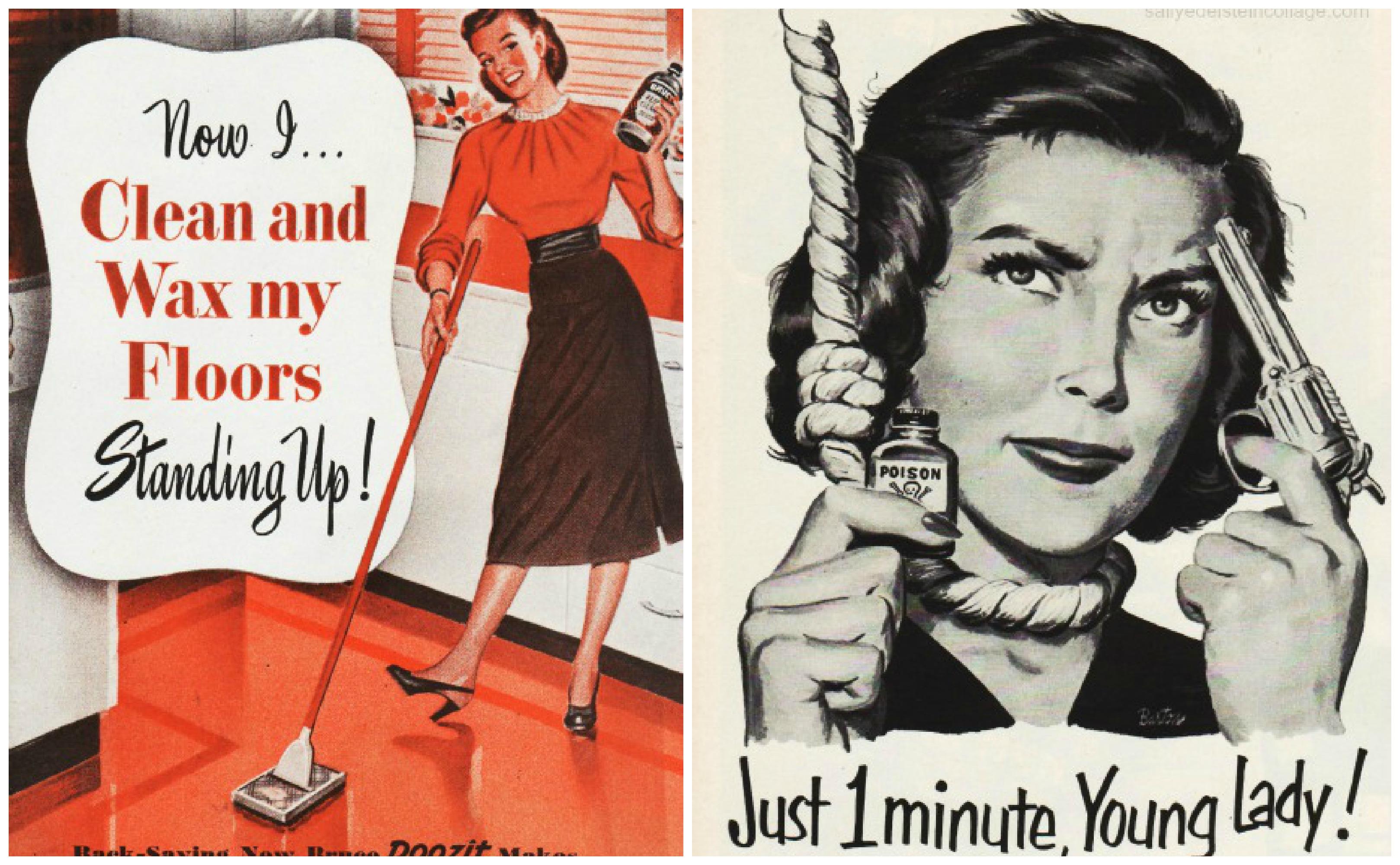 roles of women in advertising