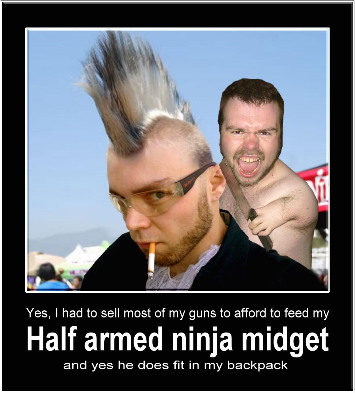 Midget Ninja 25