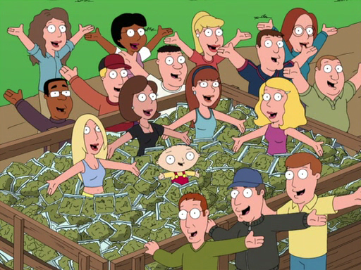 Family guy weed