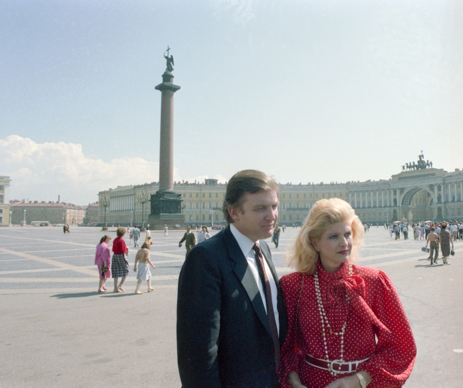21 - Trump & Ivana, Leningrad 1987