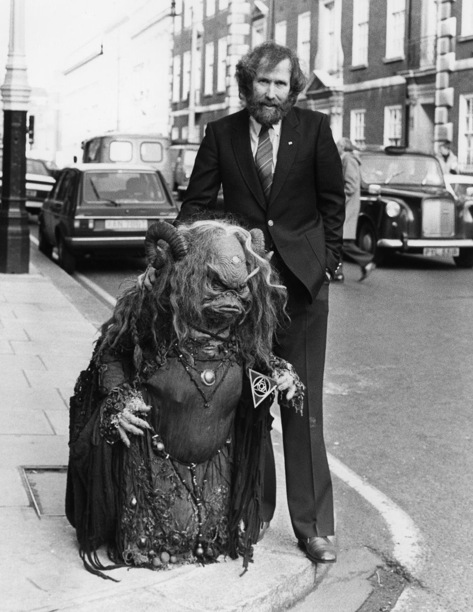 12 - Jim Henson and Aughra from The Dark Crystal